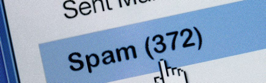 Distributed spam distraction hides illegal activities